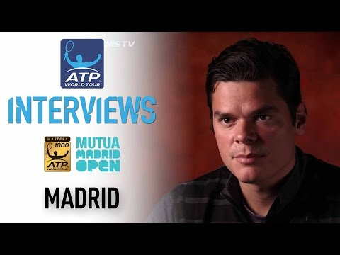 Raonic Feeling Confident Heading Into Madrid 2017