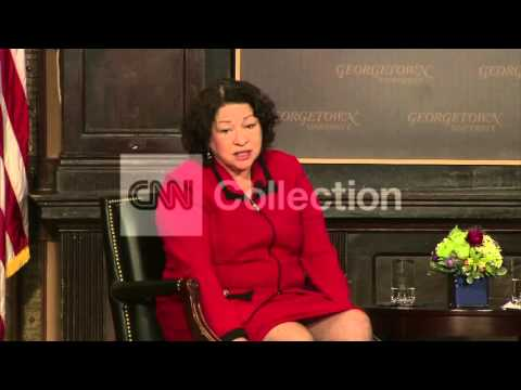 DC:JUSTICE SOTOMAYOR-VIBRANT COURT