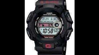 Огляд і налаштування годинника Casio G-Shock G-9100-1E [3088]