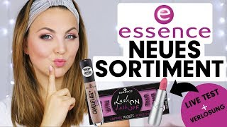 FULL FACE NEUES essence SORTIMENT HERBST 2018 LIVE TEST + VERLOSUNG! 🎁💄