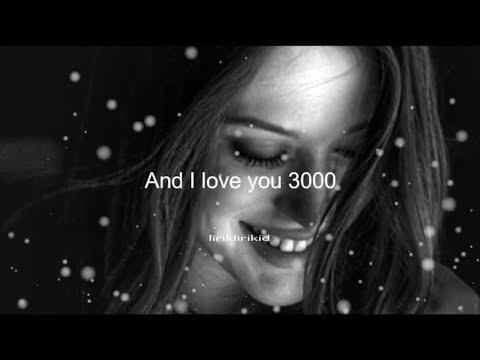 I Love You 3000 - Stephanie Poetri ( Lyric )