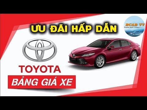 Bảng Giá Xe Toyota Kèm Khuyến Mại Mới Nhất Tháng 6/2020 - Fortuner Hỗ Trợ Cực Sâu