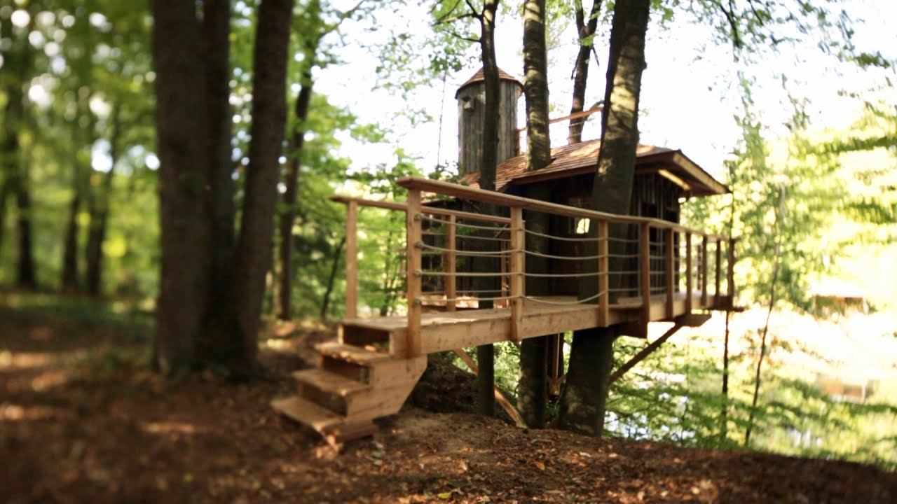 pete nelson s tree houses. Wonderful Pete Pete Nelsonu0027s Protg Builds A Perfect Treehouse  Masters   YouTube On Nelson S Tree Houses
