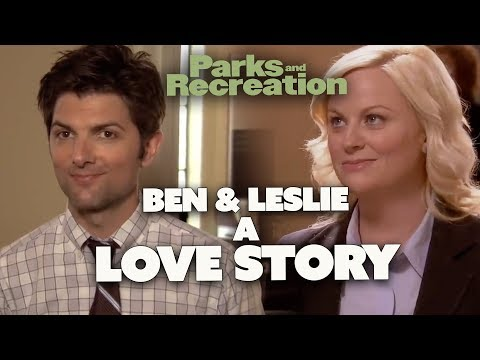 Leslie & Ben A LOVE STORY | Parks And Recreation | Comedy Bites
