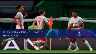 UEFA Champions League | QF |  Leipzig v Atletico Madrid | Highlights