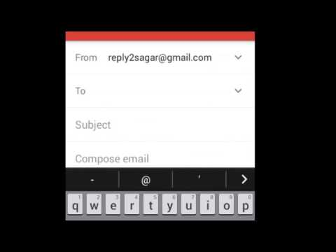How to add bcc recipient in Gmail Android App