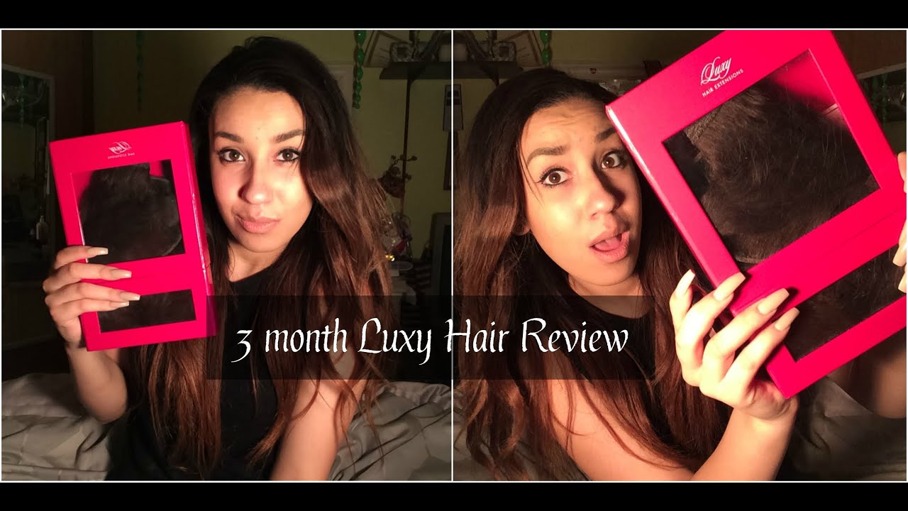 Luxy Clip In Hair Extensions Scam 3 Month Review Kay Beauty