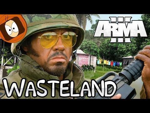 TANOA WASTELAND | LE SOLEIL, LES TROPIQUES & EXPLOSIONS !! | ARMA 3