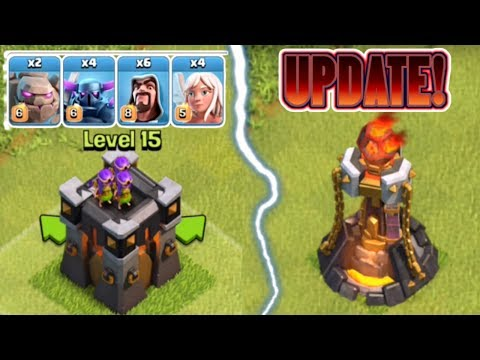 Thumbnail: CLASH OF CLANS: NEW TROOPS AND DEFENSES LEVELS UPDATE! | SNEAK PEEKS ON THE NEW JUNE 2017 UPDATE!!