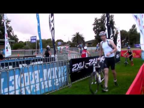 Steve Bideleux 6794 Active Feet Fun Tri Series 2012 13 Sandringham Race 4