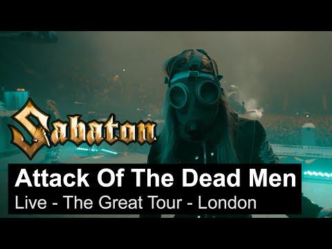 Смотреть клип Sabaton - The Attack Of The Dead Men