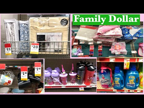 FAMILY DOLLAR CLEARANCE ITEMS | SHOPPING FOR ESSENTIALS AT FAMILY DOLLAR STORE
