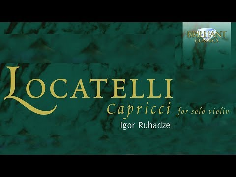 Locatelli Capricci for Solo Violin