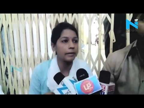 लखनऊ यूनिवर्सिटी में फीस बढ़ोत्तरी के खिलाफ छात्रों का प्रदर्शन