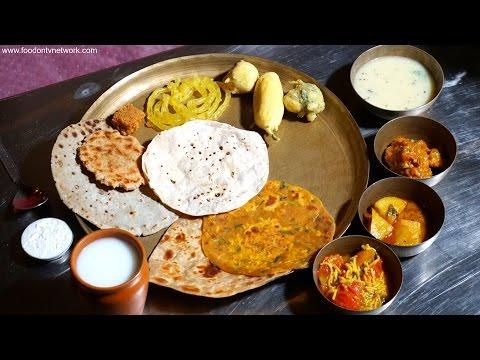Лучший гуджарати еды в Ахмадабад | Индийский Вкус еды испытания S2EP03