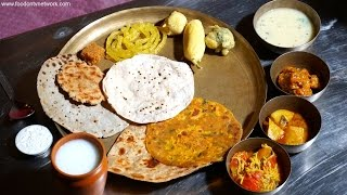 Best Gujarati Thali in Ahmedabad | Indian Food Taste Test S2EP03
