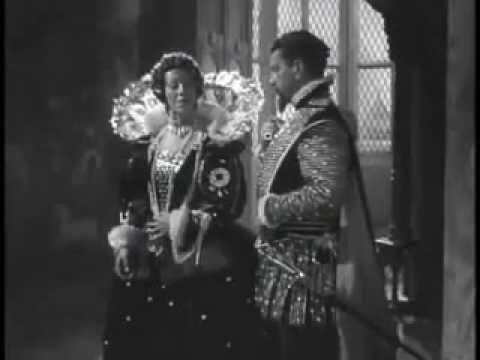 Elizabeth I appreciates the devotion of her Sea Hawks