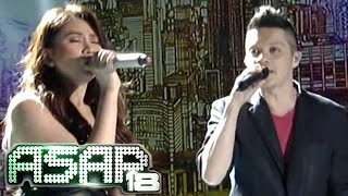 Repeat youtube video Sarah & Bamboo 'Just Give Me A Reason' duet on ASAP 18