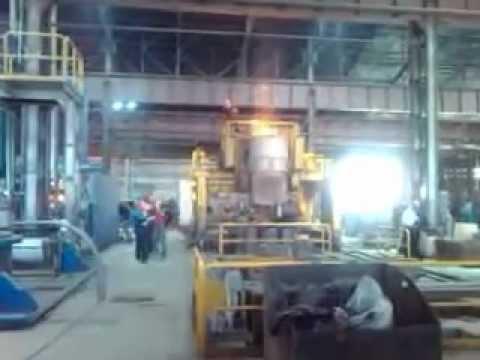 Разливка стали Кулебакский Металлургический Завод