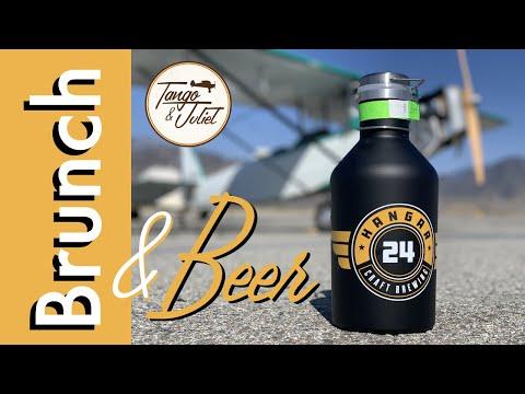 Brunch and Beer Crow-Hopping | Pietenpol Flight Vlog