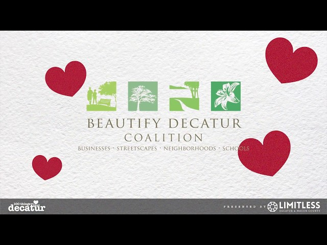 100 Things - Beautify Decatur Coalition
