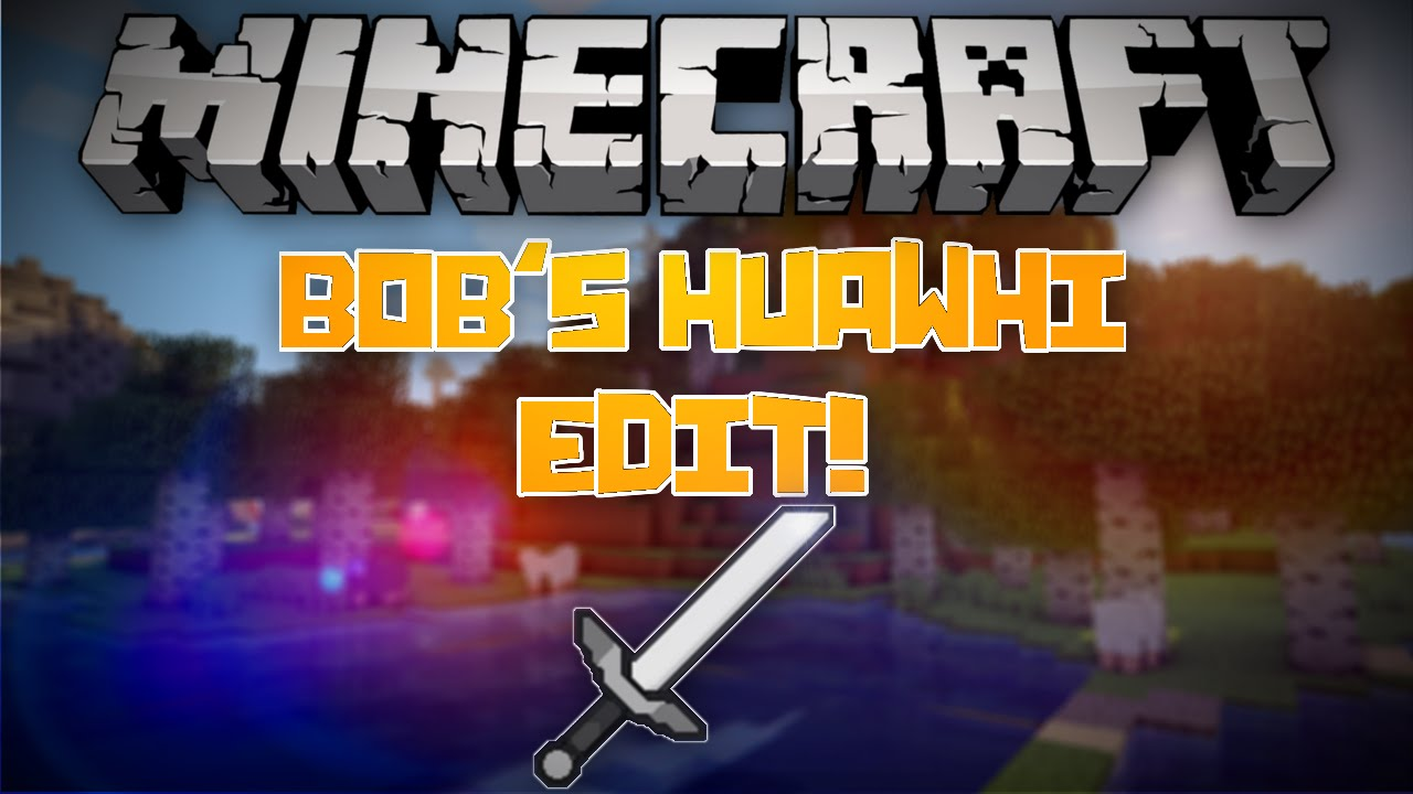 Minecraft Texture Pack Review - Bob's Huawhi Edit! - YouTube