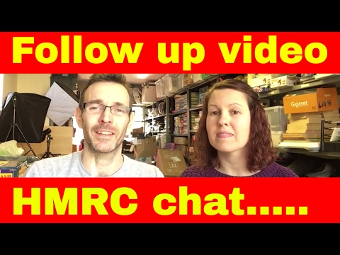 Follow up to the HMRC video - Keeping records without receip