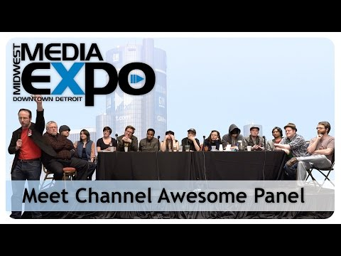 Midwest Media Expo 2015 - Meet Channel Awesome Panel