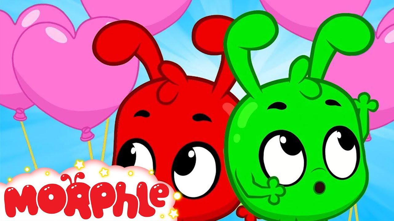 Download Orphle's Valentine's Day Balloon - Mila and Morphle   Cartoons for Kids   Morphle TV