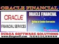 Oracle Finacial||online training|| Chart of Account||Define or Enable Currencies by SaiRam