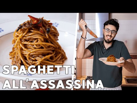 SPAGHETTI ALL'ASSASSINA * RICETTA ORIGINALE BARESE
