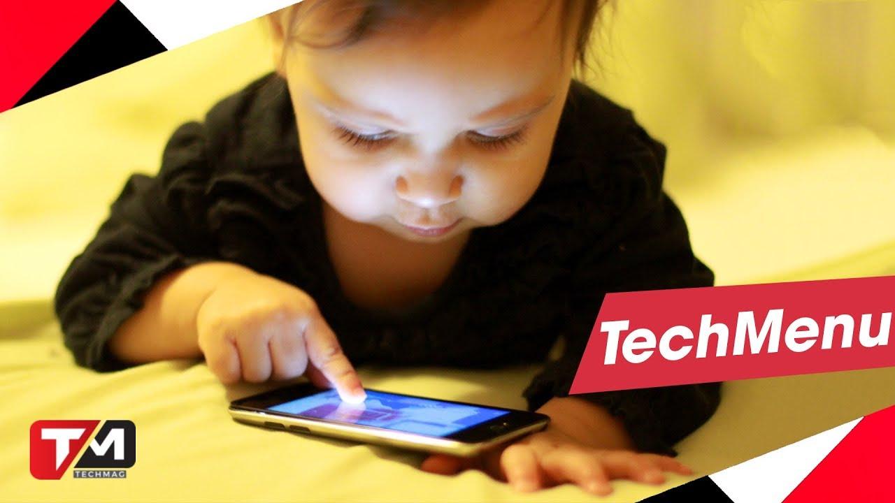 Trước khi mua điện thoại cho trẻ nhỏ nên xem video này!