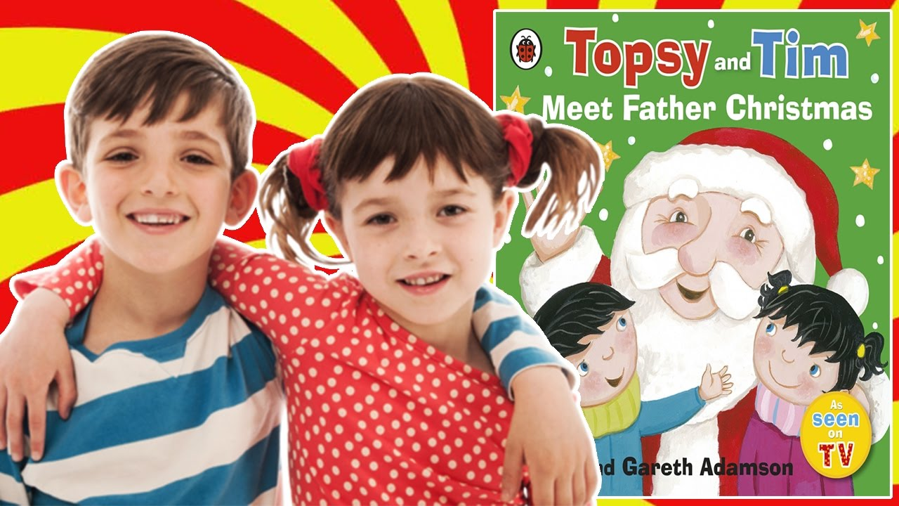 topsy and tim meet father christmas book reading for. Black Bedroom Furniture Sets. Home Design Ideas