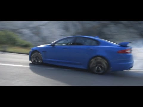 Jaguar XFRS 2013 HD New Sexy Commercial In Detail Engine Sound Carjam TV HD Car TV