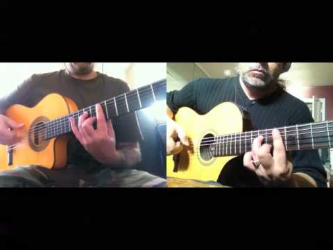 Over the Mountain (OZZY) - HEAVY MELLOW (Metal classics on Flamenco Guitars)