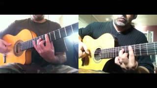 Over the Mountain (OZZY) - HEAVY MELLOW (Metal classics on Flamenco Guitars)