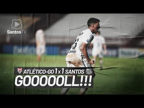 ATLÉTICO-GO 1 x 1 SANTOS | GOL | BRASILEIRÃO (06/02/21)