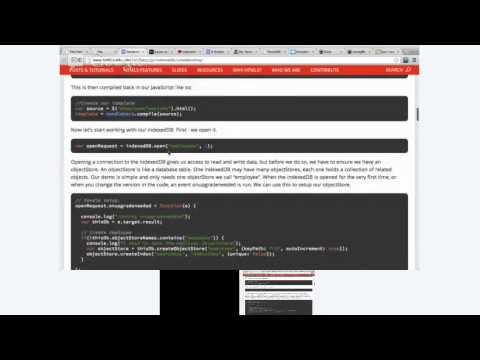 Client-Side Storage (localStorage, WebSQL, IndexedDB) - UtahJS - 2013 Feb 19