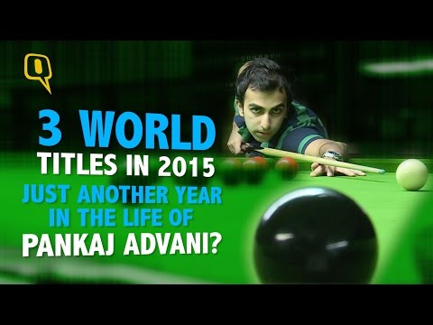 Pankaj Advani - The 'Unknown' World Champ?