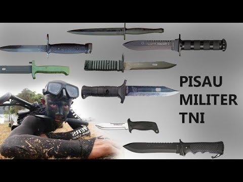 Beragam Jenis Pisau Militer TNI & Polri