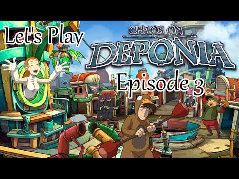 Let's Play Chaos On Deponia - Episode 3