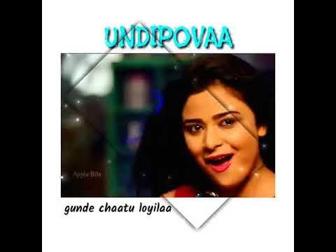 Undipova full song    savaari songs    Shekar Chandra    Nandu Priyanka Sharma     spoorthi