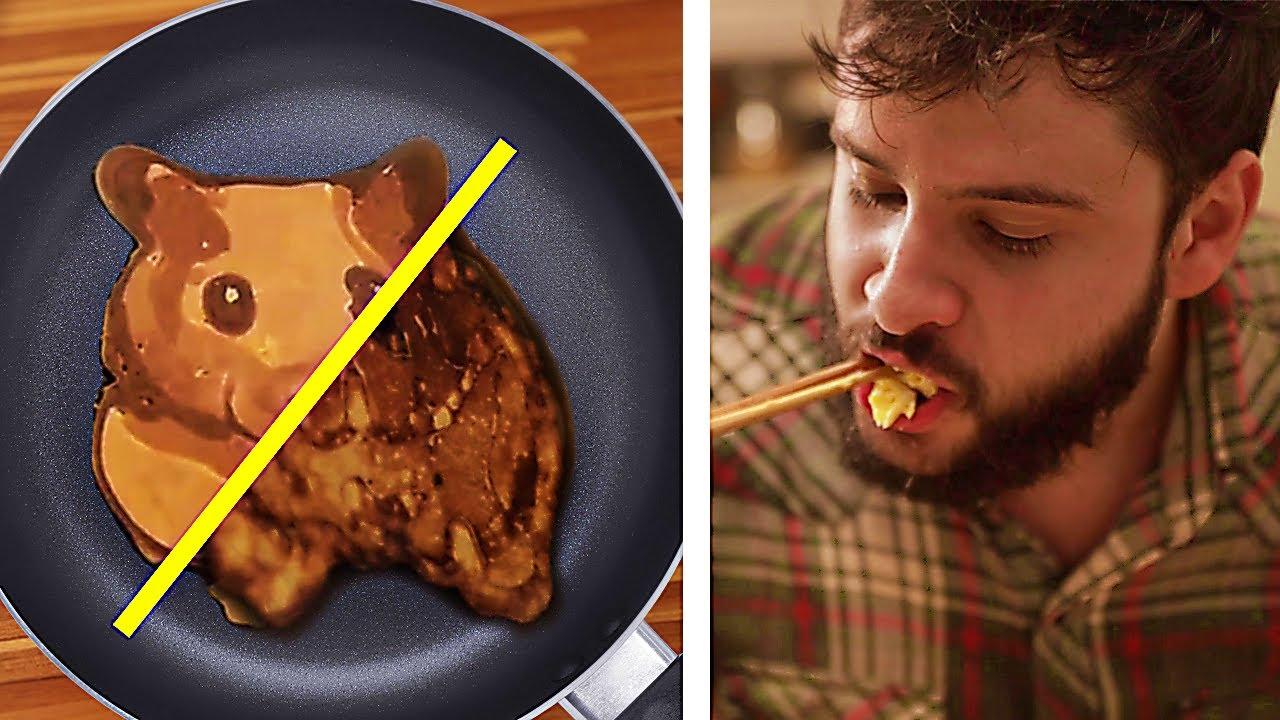 Testando os piores tutoriais de comida da internet