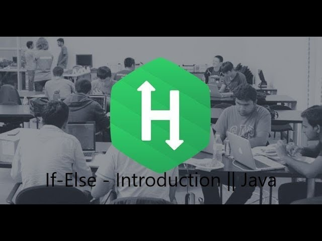 3. Java If-Else - Intoruction || Java || Hackerrank