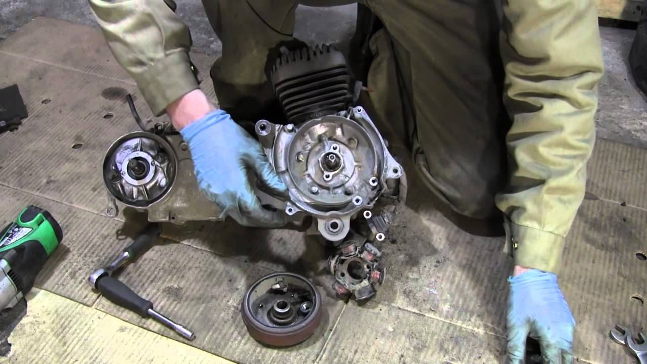 Honda Dio тюнинг №3 впуск - YouTube