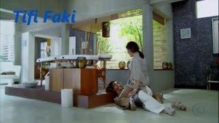 Ivonne recibe muchas cachetadas y golpes por parte de Melissa, Camino de Indias telenovela brasileña