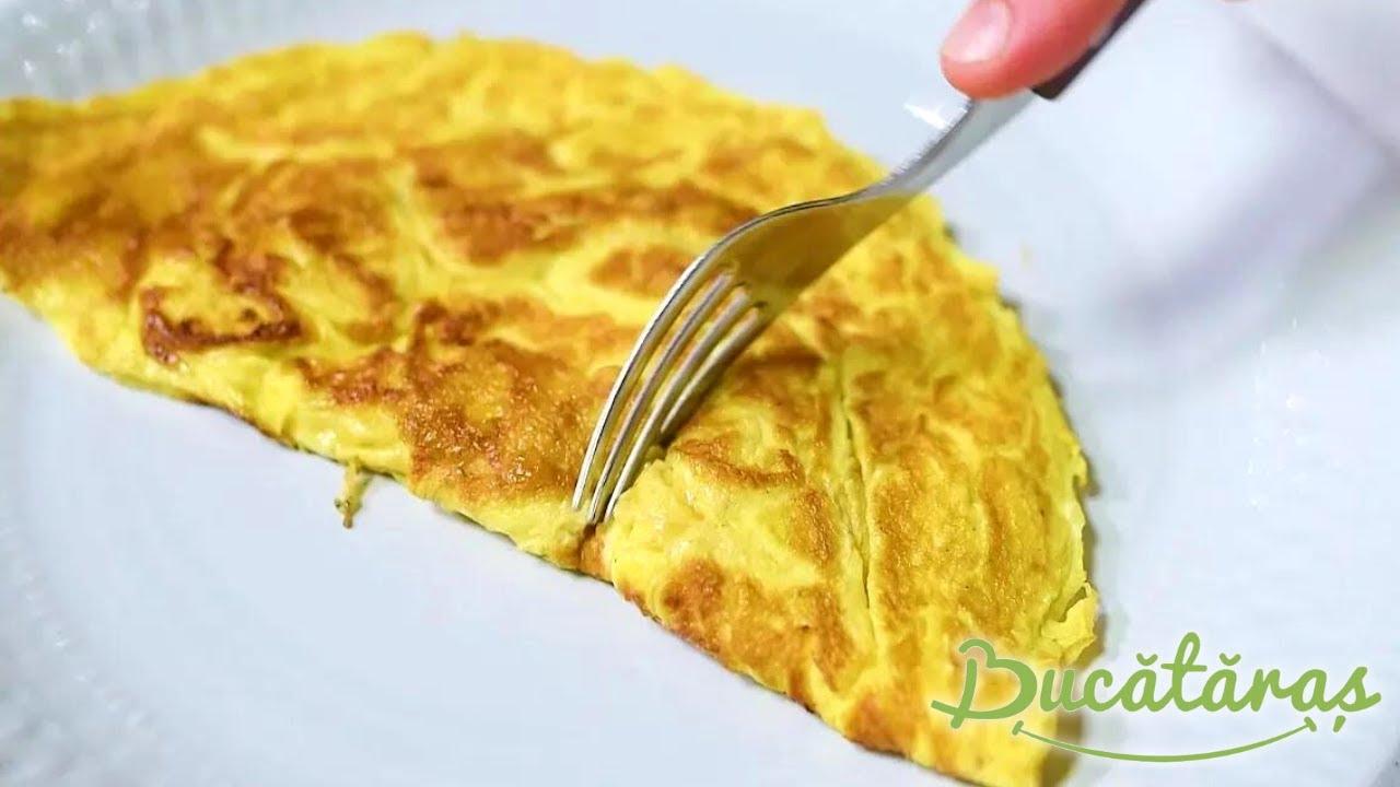Cum se face omleta perfecta | Bucataras TV