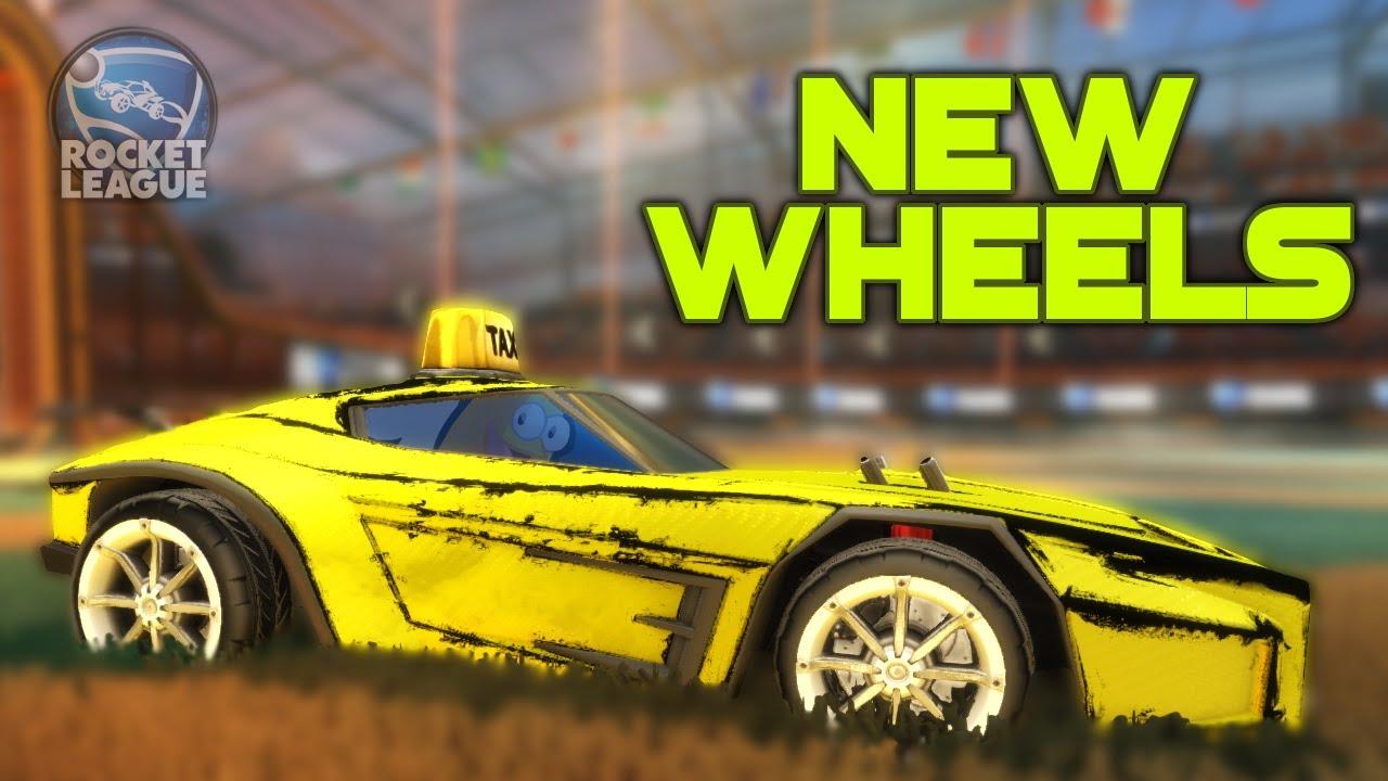 New Gearlock Wheels (Info + Showcase) | Rocket League ...