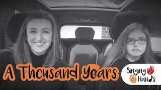 Baixar Makaton Carpool Karaoke: A Thousand Years - Singing Hands