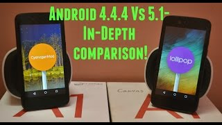 Android 5.1.1 vs 4.4.4- In-Depth Comparison!